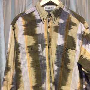 Trippy Men's Dress Shirt (vintage / retro / old)